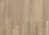 Паркетная доска Polarwood ЯСЕНЬ LIVING  WHITE MATT  3 пол.